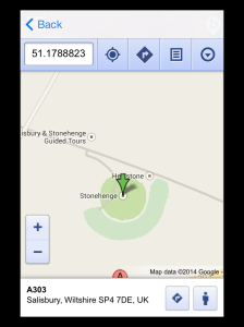 This Is All Yours App  - 'StoneHenge Location'