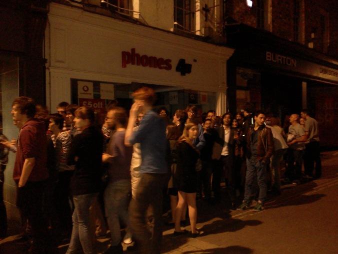 The extensive queue representing Willow's Social Value
